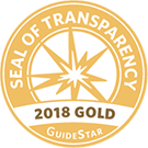 2018 Gold Seal of Transparency